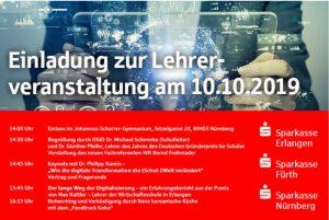 Lehrerfortbildung Sparkasse Nürnberg